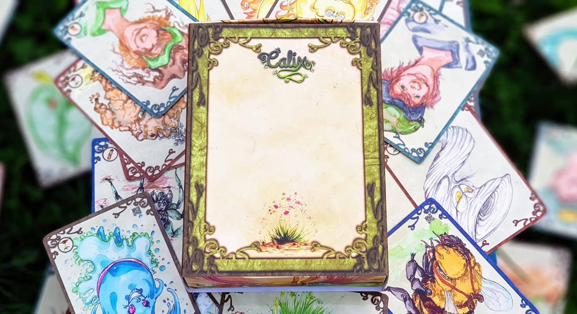 Jeu de cartes Calix - boîte